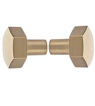 Hexagon Shower Door Knobset, Pair, DWD-SD-86458