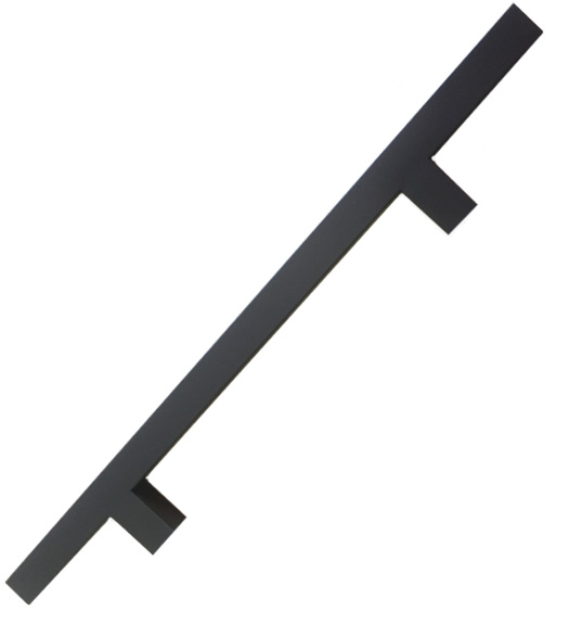 24 Inch Oil Rubbed Bronze Square Ladder Pull