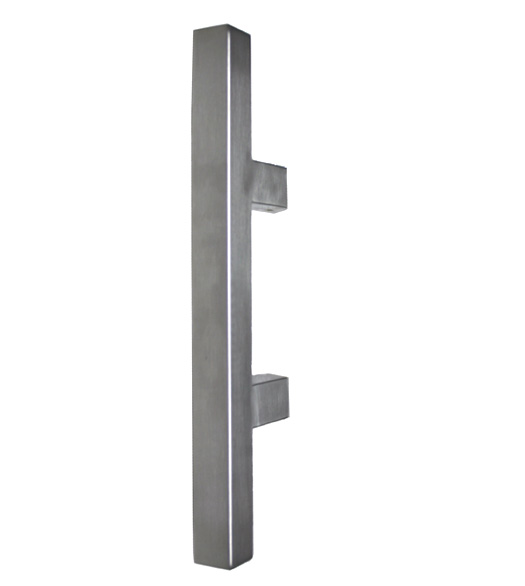 14 Square Stainless Door Handles  sc 1 st  Doorware.com & 14 Inch Square Door Handle - Doorware.com