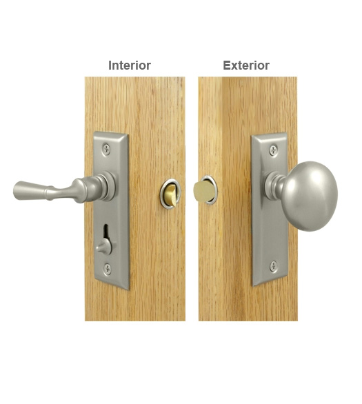 Contemporary Storm Door Latch Set