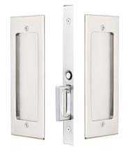 Modern Rectangular Passage Pocket Door Set, Emtek 2114