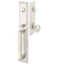 Melrose Entry Door Handleset, Emtek 4212