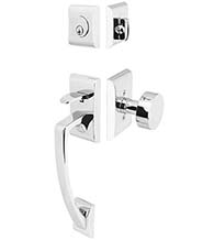 Ares Two Piece Handleset, Emtek 4817