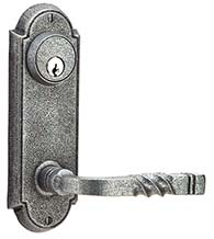 Castle Wrought Steel Entry Door Lockset, Emtek 7010