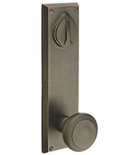 Sandcast Rectangular Lockset, Emtek 7565