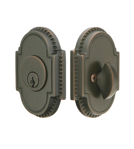 Single Cylinder Beaded Knoxville Deadbolt