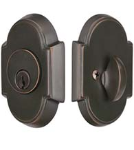 Arched Single Cylinder Deadbolt, Emtek 8466