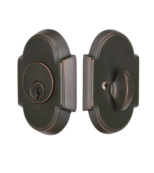 Single Cylinder #8 Arched Deadbolt