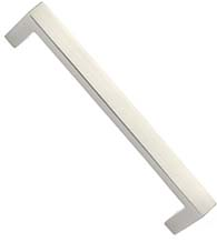 Modern 8 Inch Brisbane Door Handle, Emtek 86170