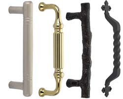 Emtek Door Pulls and Push Plates