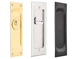 Emtek Sliding Door Hardware