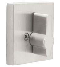 Stainless Steel Square Single Sided Deadbolt, Emtek S52006
