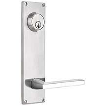 9 Inch Stainless Steel Lockset, Emtek S811