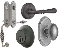 Emtek Wrought Steel Hardware