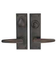 8 Inch Mortise Single Cylinder Entry Set, Hamilton EN-02AB
