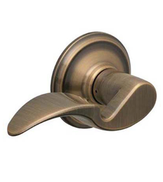 Avanti Door Lever Set  sc 1 st  Doorware.com & Avanti Door Lever Set Schlage F-AVA - Doorware.com