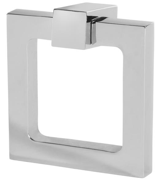 Elegant 2 Inch Square Ring Pull