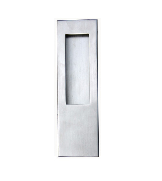 Contemporary Stainless Flush Door Pull Fii 3440 254 Us32d