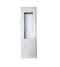 Contemporary Stainless Flush Door Pull, FII-3440/254-US32D