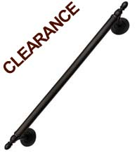 17-3/4 Inch Oil Rubbed Bronze Pull, First Impressions CF810S-18-US10B