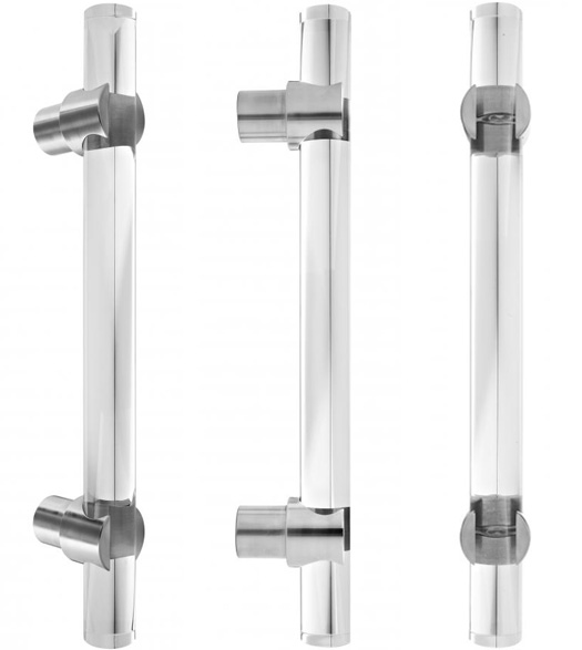 Arctic Series 2 Large Acrylic Door Handle