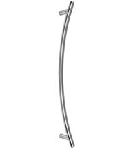 Curved Stainless Steel Door Pull, First Impressions BGH01