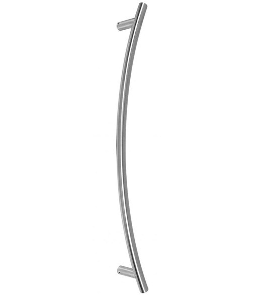 Bighorn Curved Stainless Door Pull