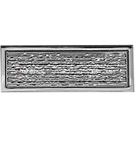 Brooks Hand Hammered Rectangular Door Pull, First Impressions BRK03