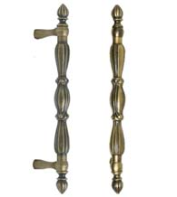 Decorative 10 Inch Ornate Appliance Pull, FII-CF1229/10
