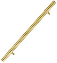 1-1/2 Inch Brass Delong Pull, First Impressions DLG04