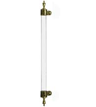 Decorative Urn Tip Acrylic Door Handle, First Impressions MGRBURNAx