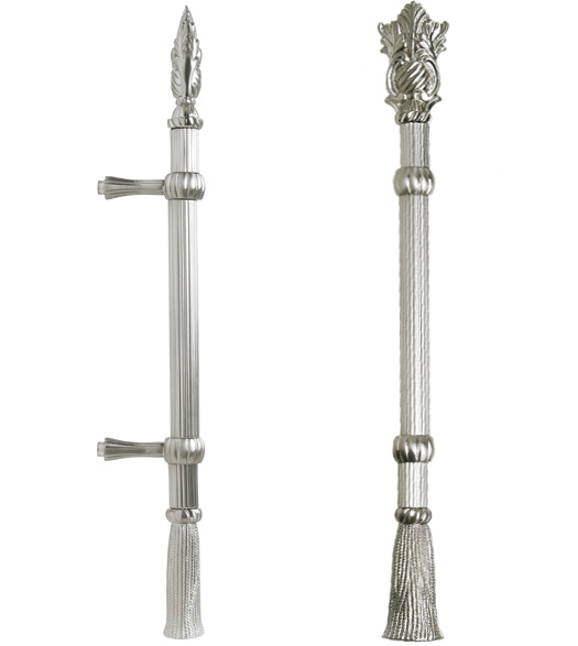 Decorative Reed and Tassel Handle