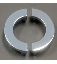 5 Inch C Shape Shower Door Handles, Pair, First Impressions SD-C5x2.5