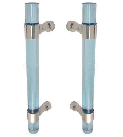 Ocean Blue Acrylic 14 Inch Shower Door Pulls, Pair, FII-SD-CFRBACOB ...