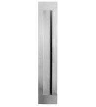 11-13/16 Inch Stainless Steel Flush Door Pull