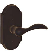 Sandcast Bronze Rainier Lever with Large Scalloped Plate, Fusion BR-C7