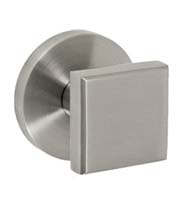 Stainless Steel Square Knobset, Fusion 05-A2