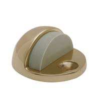 Solid Brass Dome Floor Stop, Fusion FLRSRP-01