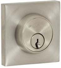 Stainless Steel Square Deadbolt, Fusion S7-0