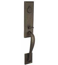 Ahwahnee Handleset with Covered Deadbolt, Fusion U7