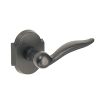 Drop Sandcast Bronze Lever With Bronze Scalloped Rose, Fusion AK-A3