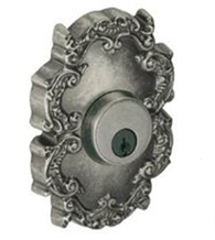 Single Cylinder Victorian Rose Deadbolt, Fusion C8