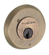 Beveled Round Sandcast Deadbolt, Fusion A4