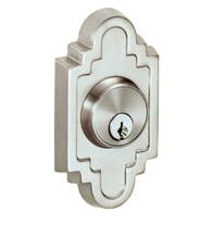 Navajo Stepped Scalloped Deadbolt, Fusion C2