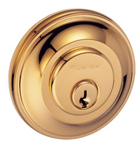 Traditional Cambridge Round Deadbolt, Fusion F2