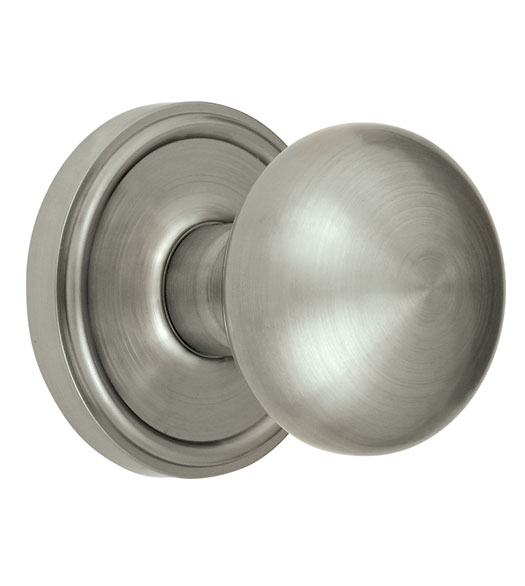 Georgetown Rosette with Fifth Avenue Knob