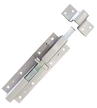 Colossal 9 Inch Padlockable Security Bolt, Global GH-835SE-AL