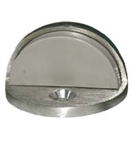 Satin Chrome Low Profile Commercial Door Stop, Global GH-DS436-US26D