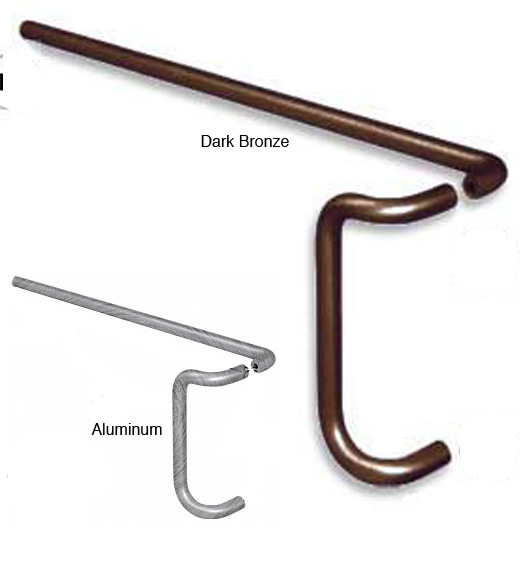 Store Door Push and Pull Handle Set - Doorware.com