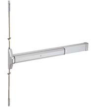 36 Inch Narrow Stile Concealed Vertical Rod Exit Device, Global TH1100-STED36CVR